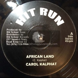 """Cry Tuff-12""""-African Land / Carol Kalphat"""