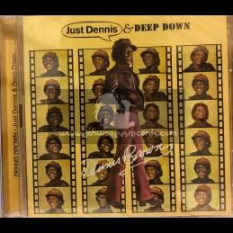 Doctor Bird-Double-CD-Just Dennis & Deep Down / Dennis Brown