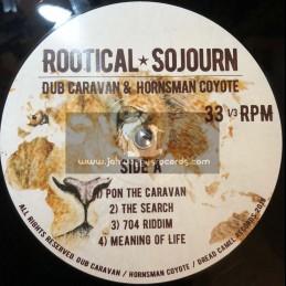 Dread Camel Records-Double-Lp-Rootical Sojourn / Dub Caravan & Hornsman Coyote