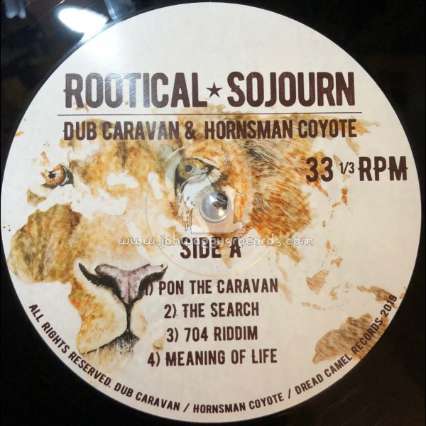 Dread Camel Records-Double-Lp-Rootical Sojourn / Dub Caravan