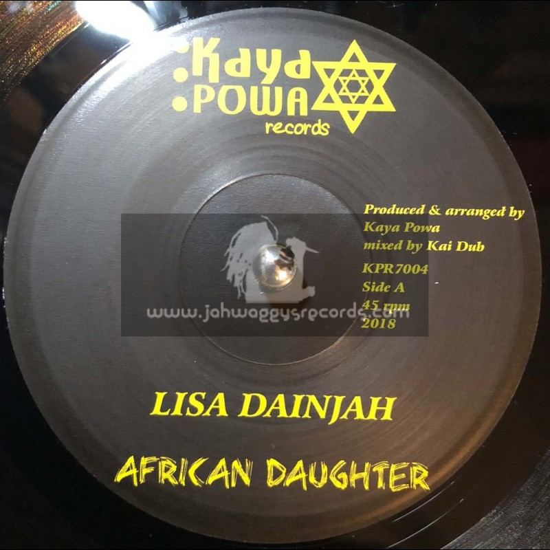 "Kaya Powa Records-7""-African Daughter / Lisa Dainjah"
