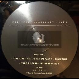 Sound Business-Lp-Imaginary Lines / Paul Fox