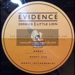 """Evidence Music-12""""-Money / Horace Andy + Little Way Different / Errol Dunkley"""