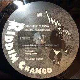"Riddim Chango Records-12""-Rise Up / Mighty Massa + Midnight Stars / Mighty Massa"