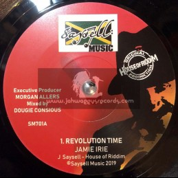 "Saysell Music-7""-Revolution Time / Jamie Irie + Revolution Dub / House Of Riddim"