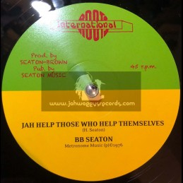 """Roots International-12""""-Jah Help Those Who Help Themselves / BB Seaton + Aware Of Love / BB Seaton"""