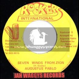 "ROCKERS INTERNATIONAL-7""-SEVEN WINDS FROM ZION/AUGUSTUS PABLO"