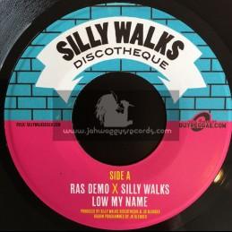 "Silly Walks Discoteque-7""-Low My Name / Ras Demo + Zion Train / Silly Walks"