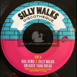 "Silly Walks Discoteque-7""-Dreader Than Dread / Ras Demo + Along The Way / Ras Demo"