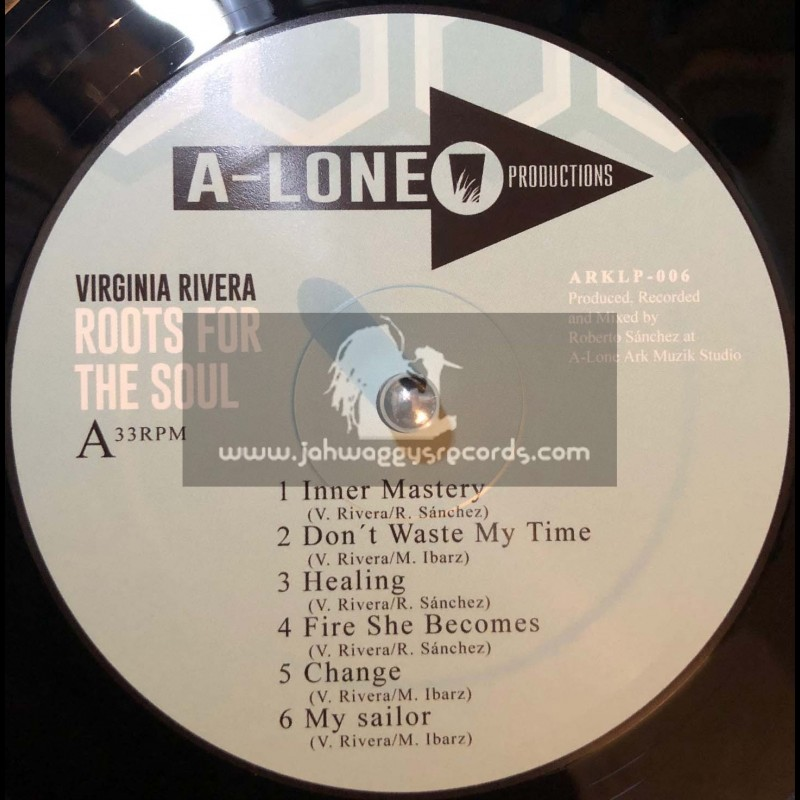 A Lone Productions-Lp-Roots For The Soul / Virginia Rivera