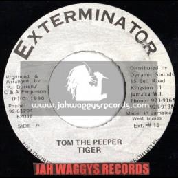 "EXTERMINATOR-7""-TOM THE PEEPER / TIGER (1990) ORG"