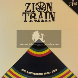 Digital Traders-Test Press-Zion Train / 30th Anniversary - 1998 / 2018 - Limited Edition