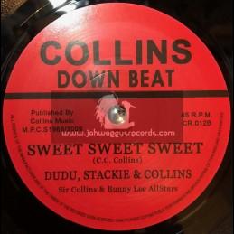 "Collins Down Beat -7""-Take Off / Sir Collins & Owen Grey"