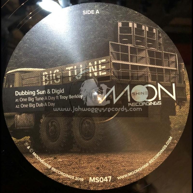 "Moonshine Recordings-12""-Special Patrol / Dubbing Sun And Digid Ft. Troy Berkley"