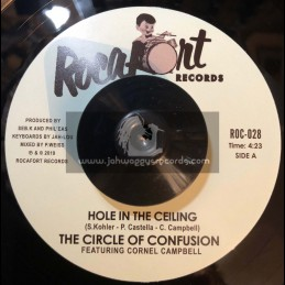 "Rocafort Records-7""-Hole In The Ceiling / The Circle Of Confusion Ft. Cornel Campbell"