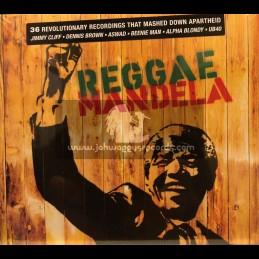 VP-Double-CD-Reggae Mandela / Various Artist