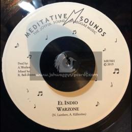 "Meditative Sounds-7""-Warzone / El Indio"