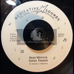 "Meditative Sounds-7""-Ganja Farmer / Isiah Mentor"