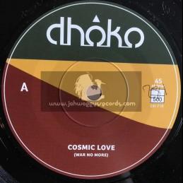"Dhoko-7""-Cosmic Love / Dhoko"