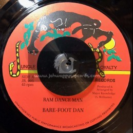 "Jungle Royalty Records-7""-Ram Dance Man / Bare Foot Dan"