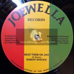 "Joewella Records-12""-Beat Them Oh Jah / Robert Mystick"
