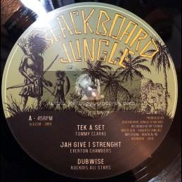 "Blackboard Jungle-12""-Tek A Set/Tommy Clarke + Jah Give I Strength/Everton Cambers + Signs/Donovan Kingjay + Herbs/John Cerial"