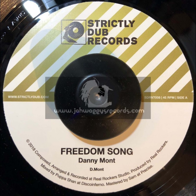 "Strictly Dub Records-7""-Freedom Song / Danny Mont"