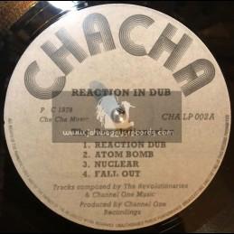 Cha Cha Music-Lp-Reaction In Dub / The Revolutionaries