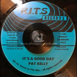 """R.I.T.S Records-7""""-Its A Good Day / Pat Kelly"""