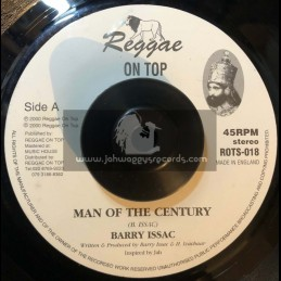 "REGGAE ON TOP-7""-MAN OF THE CENTURY / BARRY ISSAC"