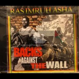 House Of Asha-CD-Backs Against The Wall / Ras Imru Asha