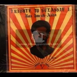 House Of Asha-CD-Tribute To Selassie I / Ras Imruh Asha