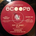 "Scoops-10""-Out Of Many / Madu + Guide I / Splitz Horns"