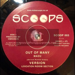 """Scoops-10""""-Out Of Many / Madu + Guide I / Splitz Horns"""