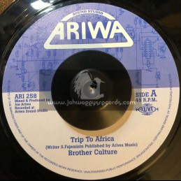 """Ariwa-7""""-Trip To Africa / Brother Culture"""