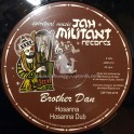"Jah Militant Records-12""-Hosanna / Brother Dan + Battlefield Dub / Jah Massive All Stars"