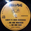 "Rice & Peas Records-12""-We Are Warrior / Samity Feat. Madu + Warrior Spirit / Samity Feat. I-Jah Salomon"