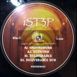 """WhoDemSound Records-12""""-Groundwork / iSt3p + Deliverance / iSt3p"""