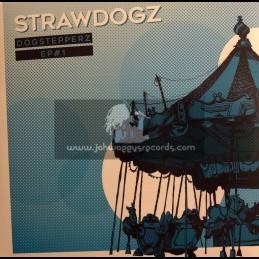 "Holistique Music-12""-The Sticks / Pupa Jim + Hustlers / Troy Berkley & Saraph Sunman - Strawdogz – Dogstepperz EP 1"