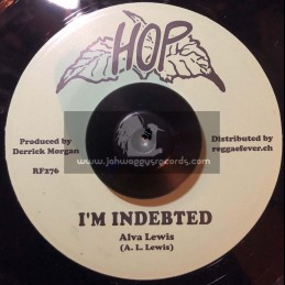 "Hop-7""-I'm Indebted / Alva Lewis, Bobby Aitken & Carib Beats + Some Come Some Go / Lynn Taitt And The Jets"