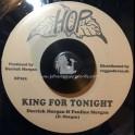 "Hop-7""-King For Tonight / Derrick Morgan & Pauline Morgan + Double Shot / Beverley's All Stars"