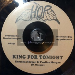 "Hop-7""-King For Tonight / Derrick Morgan & Pauline Morgan + Double Shot / Beverley's All Stars"