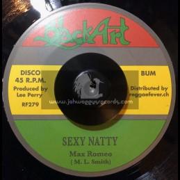 "Black Art-7""-Sexy Natty / Max Romeo + Stealin / Max Romeo"