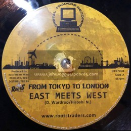 """Digital Traders Records-7""""-From Tokyo To London / East Meets West + Previously Unreleased Dubplate Cut"""