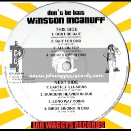 """SIP A CUP-12""""-DONT BE BAIT / WINSTON MCANUFF"""