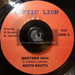 """Coptic Lion-7""""-Brother Man / Keety Roots"""