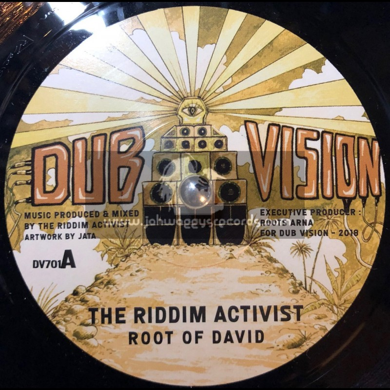 "Dub Vision-7""-Root Of David / The Riddim Activist"