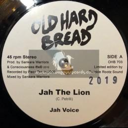 """Old Hard Bread-7""""-Jah The Lion / Jah Voice"""