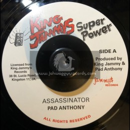 "Jammys Records-King Jammys Super Power-7""-Assassinator / Pad Anthony"