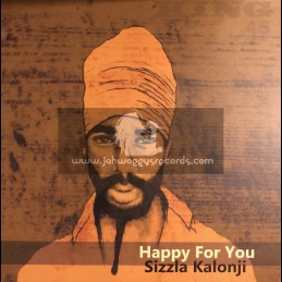 "King 45-7""-Happy For You / Sizzla Kalongi"